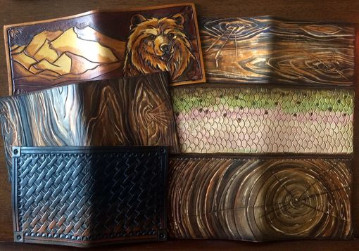 Custom Made Fathers Day Custom Wallets