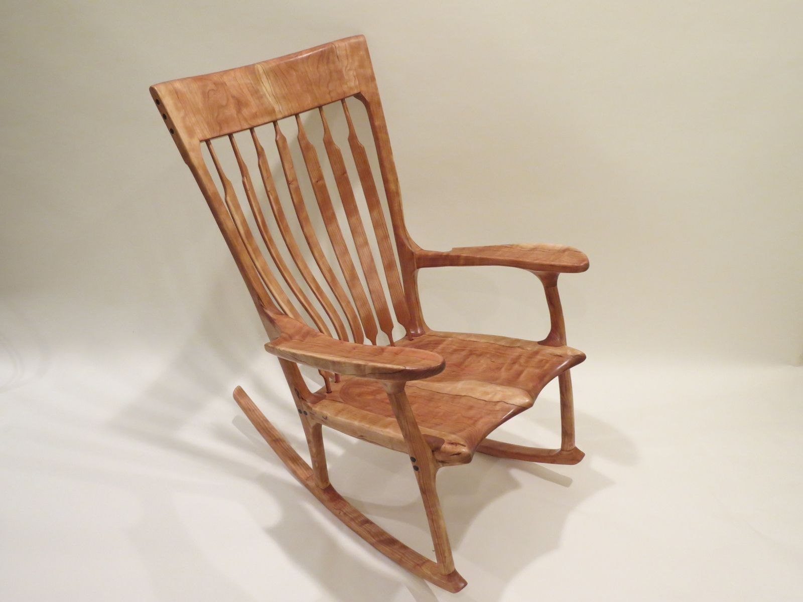 Buy a Custom Sculpted Rocking Chair made to order from Lost Creek
