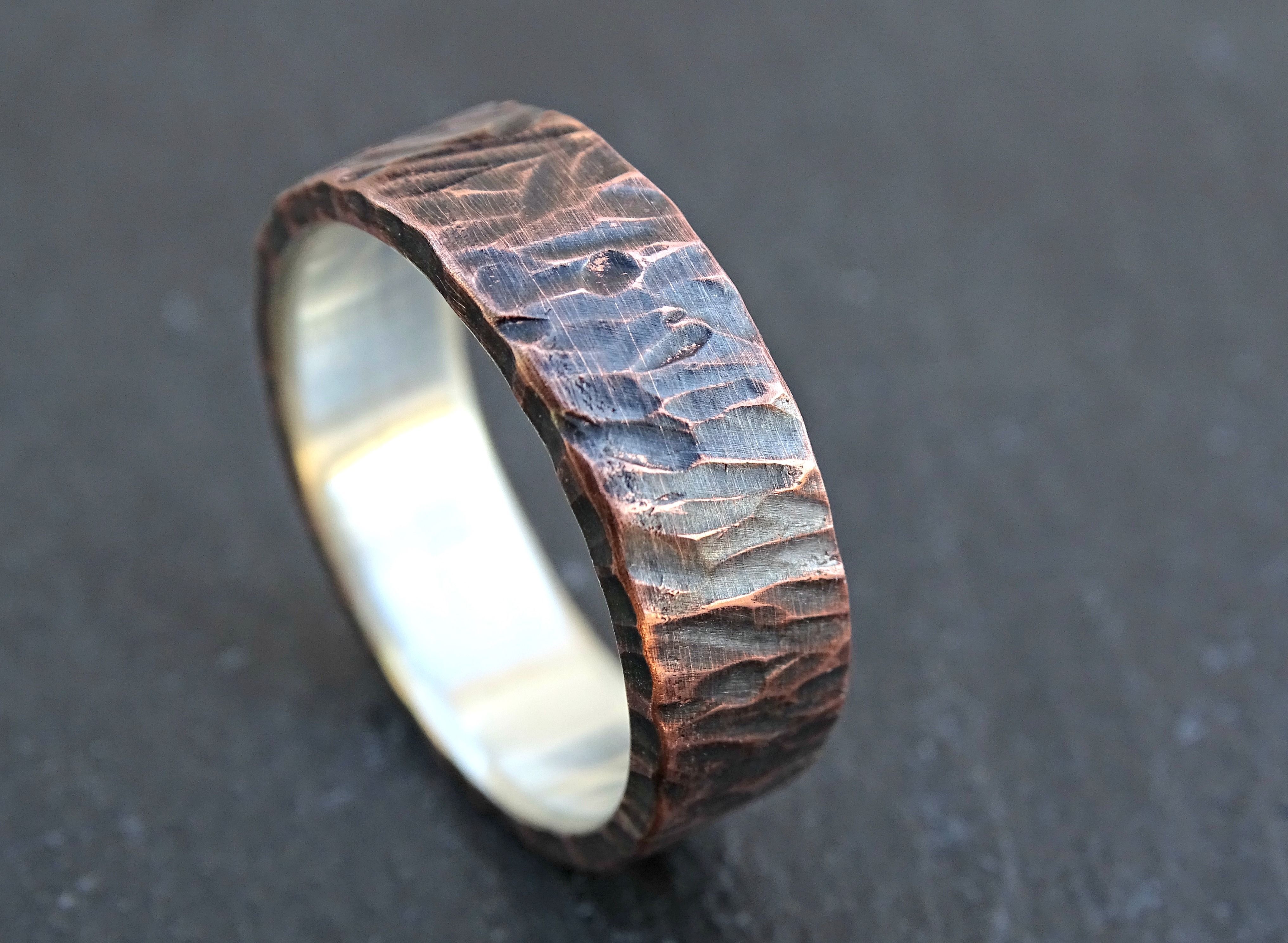 Buy a Custom Made Viking Wedding Band, Mens Promise Ring Or Unique ...
