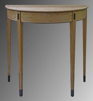 Custom Made Demilune Table