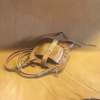 Custom Made Premium Saddle Leather Bag