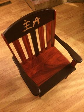 Custom Made Custom Chair For Child