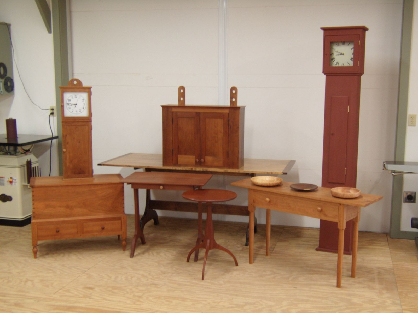 Hand crafted shaker reproduction furniture by byrd for Shaker furniture