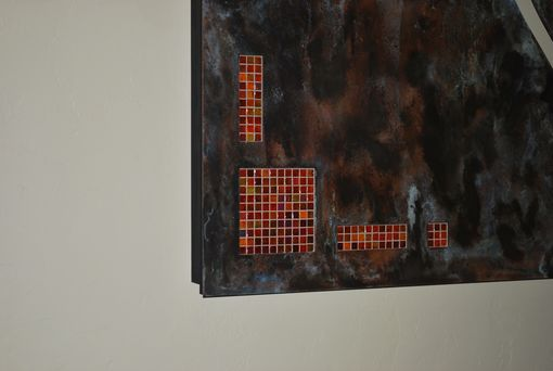 Custom Made Lighted Copper Panels