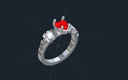 Custom Made Wow Horde It All Engagement Ring