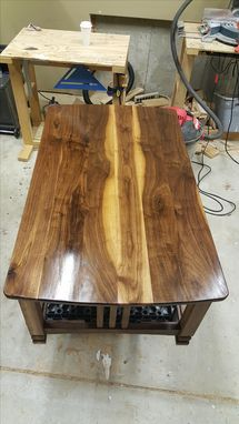 Custom Made The Brookover Walnut Coffee Table