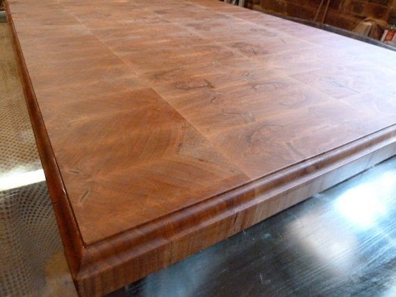 Hand Crafted Ambrosia Maple Butcher Block Island Top by ...