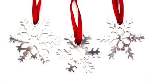 Custom Made Snowflake Ornament Style 2