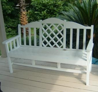 Custom Made Classic American Garden Bench