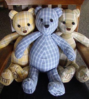 Custom Made Memory Bears