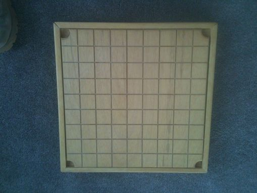 Custom Made Double Sided Game Board