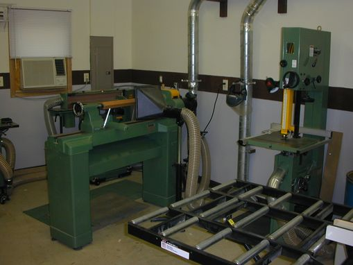 Custom Made Woodworking Shop