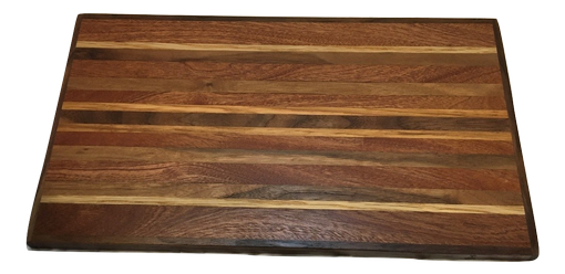 Custom Made Mahogany Cutting Board By Austin Wood And Metal