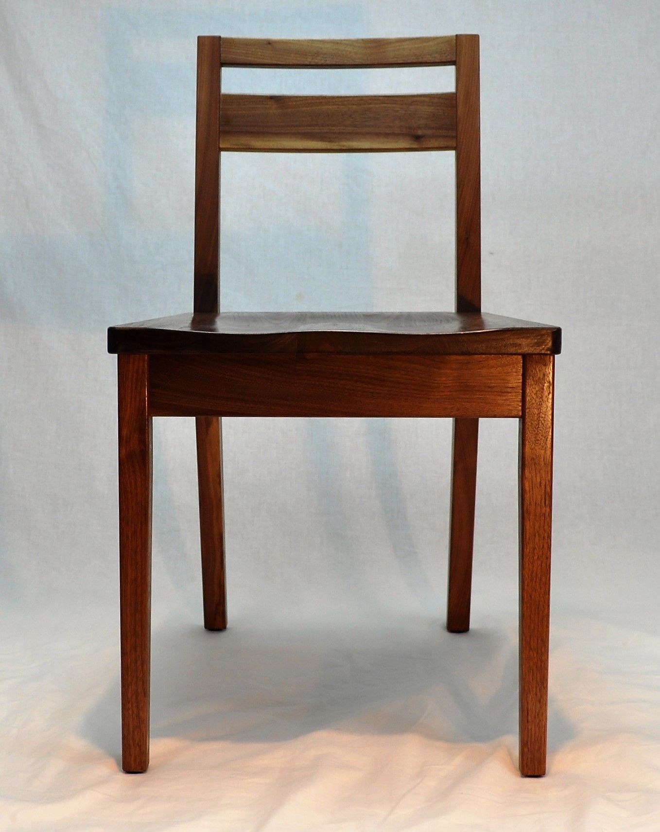 Hand Crafted Low Back Dining Chair by Glessboards