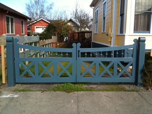Custom Made Victorian Style Wooden Gates