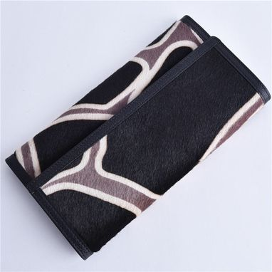 Custom Made Classic Overlapping Style Leather Wallet