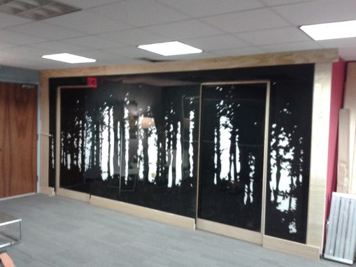 Custom Made Forest Wall