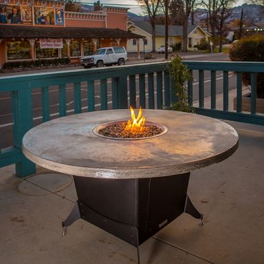 Custom Made Bishop Fire Pit Table