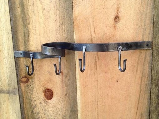 Custom Made Rack Of Hooks For Entrance Or Bedroom