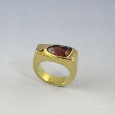 Custom Made Garnet Ring
