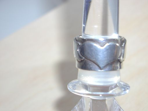Custom Made Winged Heart Ring