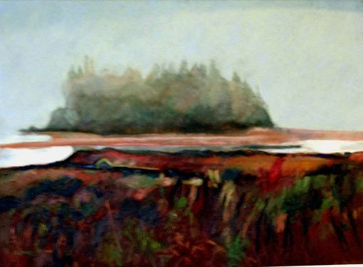 Custom Made Painting:  Bay Of Fundy Fog By Maggie Schmidt