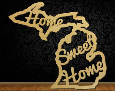 Custom Made Home Sweet Home State Signs