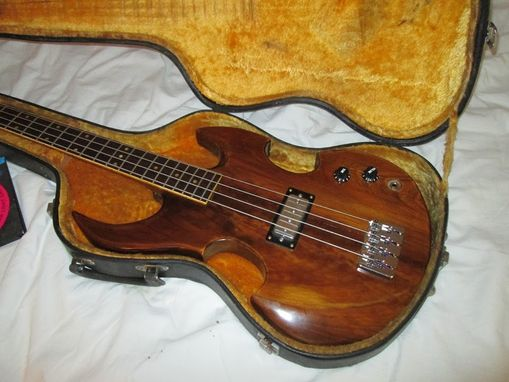 Custom Made Short Scale Cypress Bass Guitar