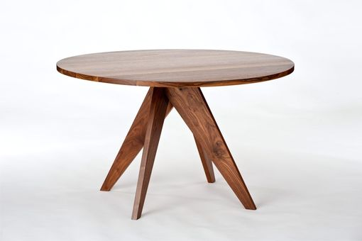 Custom Made Round Dining Table - Walnut
