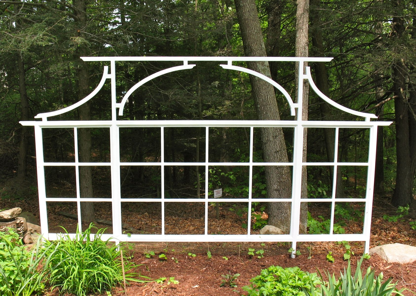 Custom Asian Influenced Trellis By White Dove Woodworking Llc