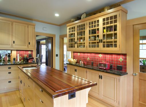 Custom Made Craftsman Kitchen