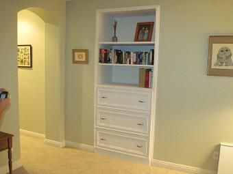 Custom Made Dining Room And Bedroom Cabinets