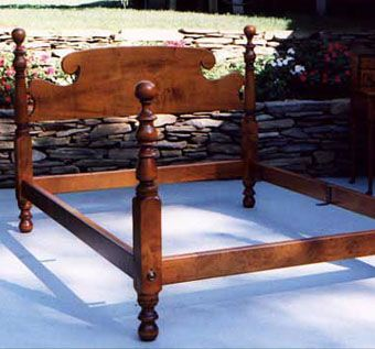 Custom Made Antique Reproduction Bed