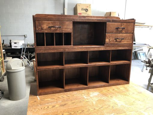 Custom Made Organizer Storage Center