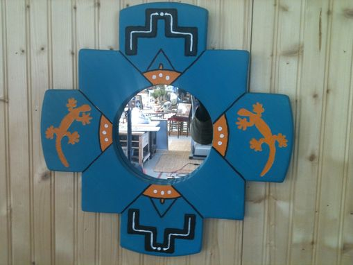 Custom Made Inca Mirror