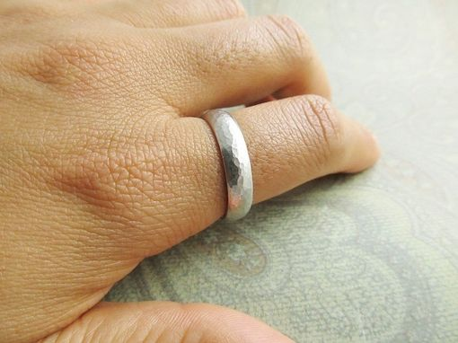 Custom Made Platinum Wedding Band