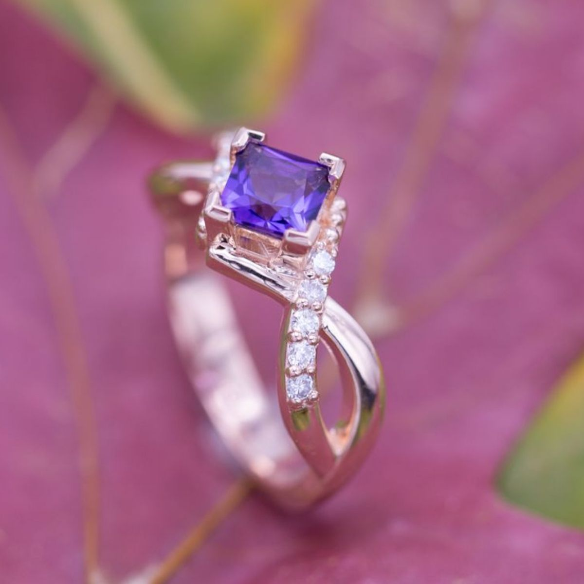 Amethyst Engagement Rings | CustomMade.com