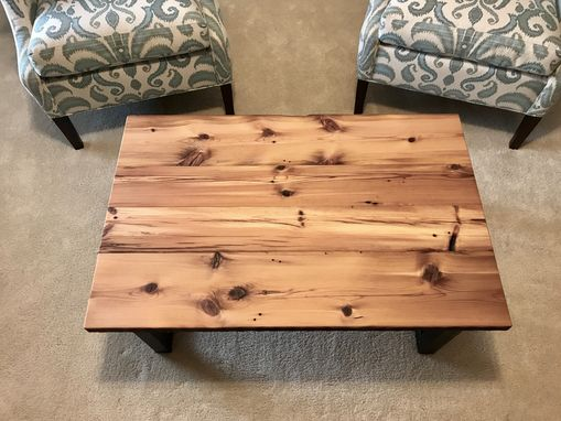 Custom Made 200 Year Old Reclaimed Pine Coffee Table