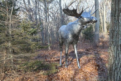 Custom Made Moose Sculpture