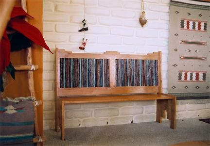 Custom Made Southwest Bench