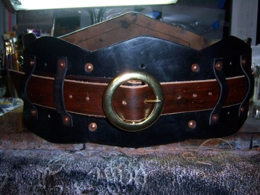 Custom Made Pirate Mens Warrior Belt Or Under-Bust Womens Corset