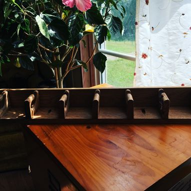 Custom Made Handmade Horizontal Wooden Hanger