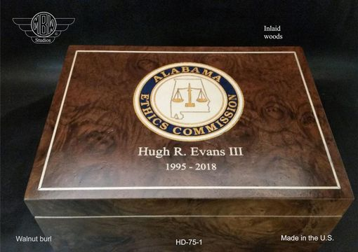 Custom Made Handcrafted Humidor's Made In The U.S.  Hd75-1