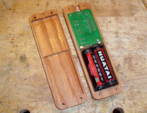 Custom Made Wood Remote
