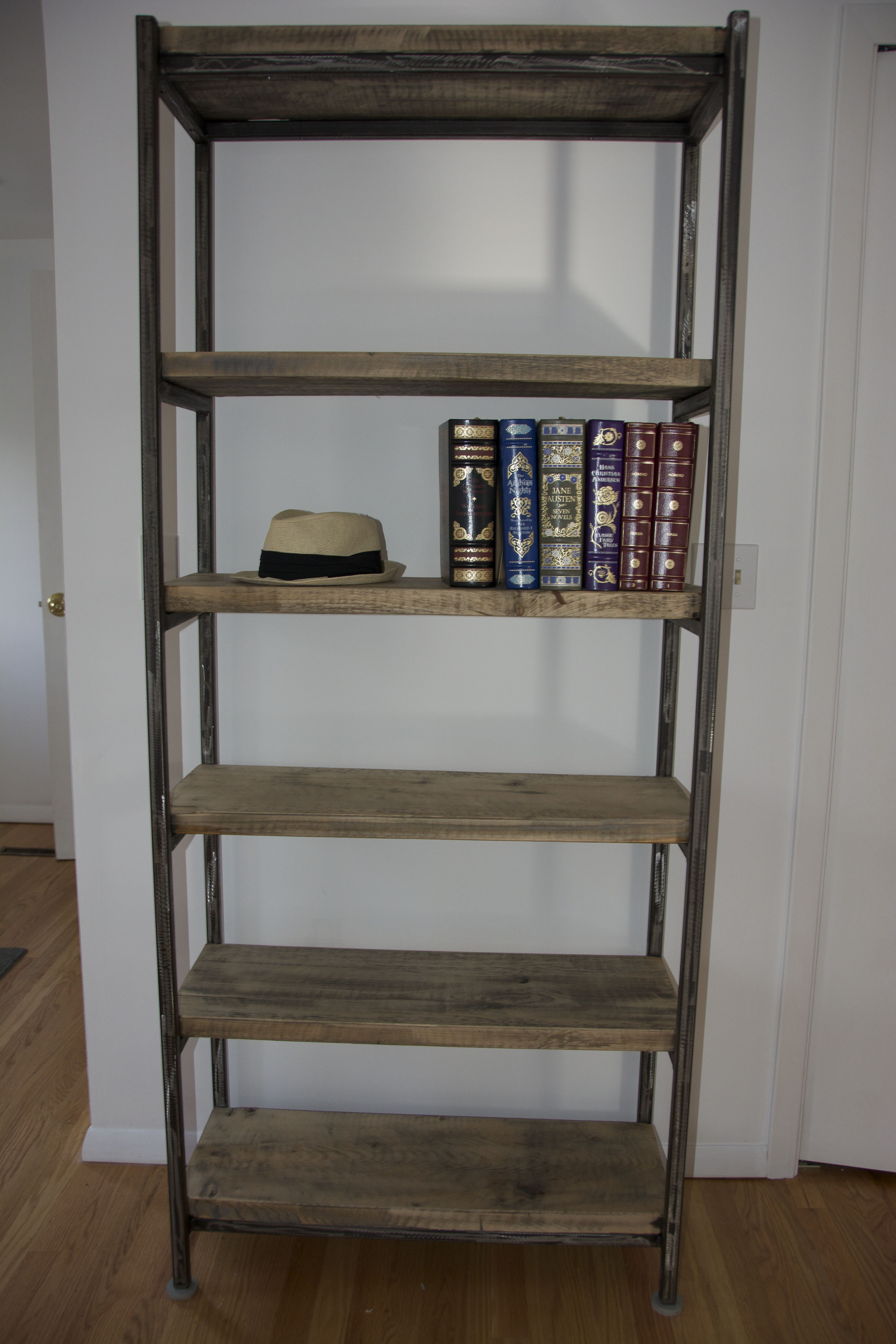 corner antique shipping walnut metal overstock garden bookcases bookcase wood today free product home tier