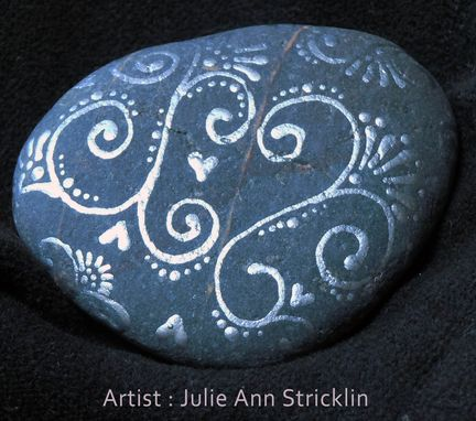 Custom Made One Of A Kind, Hand Painted, Meditation Rocks