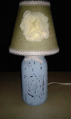 Custom Made Mason Jar Lamps