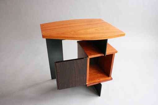 Custom Made Scarlet End Table