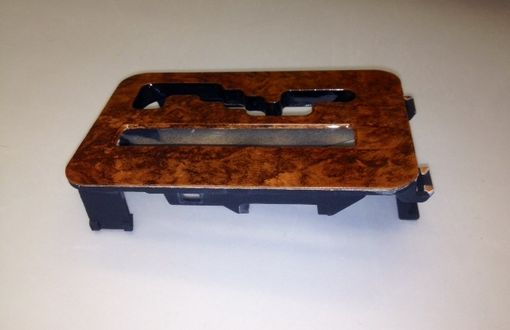 Custom Made Burled Wood Shifter Plate