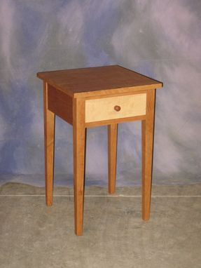 Custom Made Shaker Cherry Nightstand